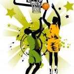 Basketball forever — Stock Vector