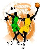 Basketball club — Stock Vector