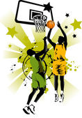 Basketball forever — Stock Vector