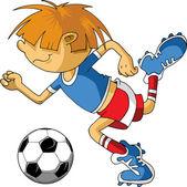小小足球 — 图库矢量图片