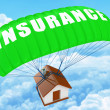 Stock Photo: Home Insurance concept