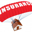 Home Insurance concept — Stock Photo