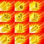 Set di zodiac — Foto Stock