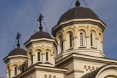 Orthodox church steeple — Stock Photo
