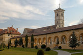 Romanesque cathedral — Stock Photo