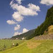 Mountaiin valley village in Austrian Alps - Foto de Stock  