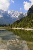 Mountain lake in Italian Alps — Stock Photo