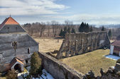 教堂和修道院 — 图库照片