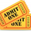 Royalty-Free Stock Imagen vectorial: Cinema tickets