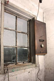 Old wall and window — Stock Photo