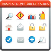 Business icon series 3 — Stock Vector