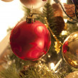 Stock Photo: christmas tree decorations