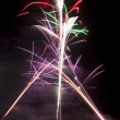 Stock Photo: Fireworks long exposure