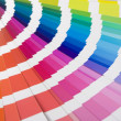Foto Stock: Colour designer swatches