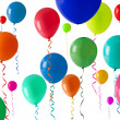 Party balloon background — Stock Photo
