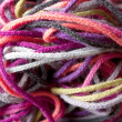Wool strands background — Stock Photo