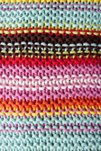 Macro knitted texture background — Stock Photo