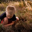 Young child in nature — Stock Photo #4594146