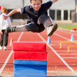 Royalty-Free Stock Photo: Long Jump