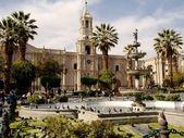 Plaza de armas — Stock Photo