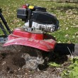 Stock Photo: Garden tiller