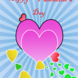 Stock Photo: Happy valentine's day greeting
