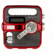 Постер, плакат: Hand crank emergency radio