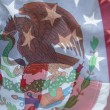 Mexico and USflags — Stock Photo #4381359