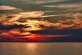 Dramatic Evening Sunset — Stock Photo