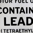 Contains lead — Stock Photo