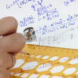 Mathematics formula — Stock Photo