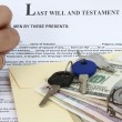 Last will and testament — Stok fotoğraf #4184126