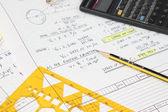 Engineering Equation — Stock Photo