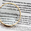 Confidentiality — Stock Photo