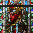 Saint Michael archangel - Stock Photo