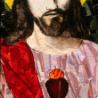 Stock Photo: Sacred Heart of Jesus