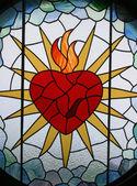 İsa'nın kutsal kalbi — Stok fotoğraf