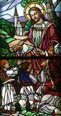 Jesus, Friend of Little Children — Stock Photo