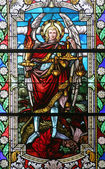 Saint Michael archangel — Stock Photo