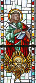 St. johannes evangelist — Stockfoto