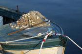 Velho barco a remos — Fotografia Stock