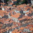 Red roofs of Dubrovnik — Stock Photo