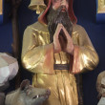 Saint Anthony the Great — Stock Photo