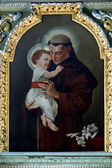 Saint Anthony of Padua — Foto Stock