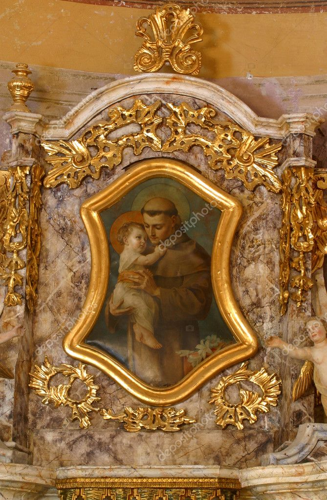 Saint Anthony of Padua  — Stock Photo #4975402