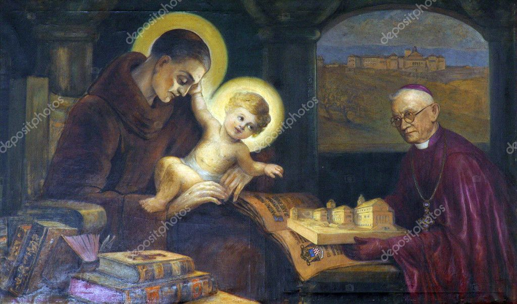 Saint Anthony of Padua  — Stock Photo #4975435