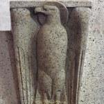Постер, плакат: Eagle the symbol of St John Evangelist