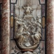Detail of pulpit in Zagreb cathedral — Stock Photo
