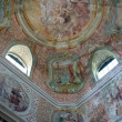 Fresco paintings in the old church — Stock Photo #4995390
