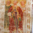 Fresco paintings in the old church — Stock Photo #4995963